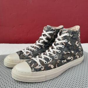 Converse x UO Camo Hi Top Sneaker Rare HTF Gift